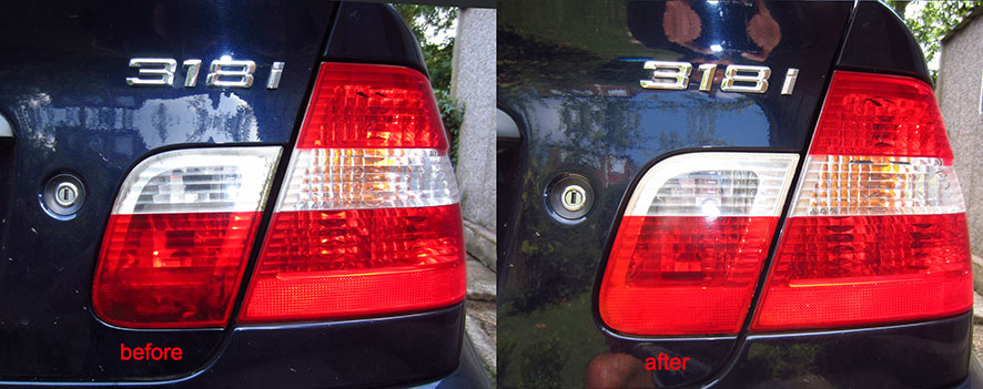 impee's DIY Rear Light Clean - BMW e46
