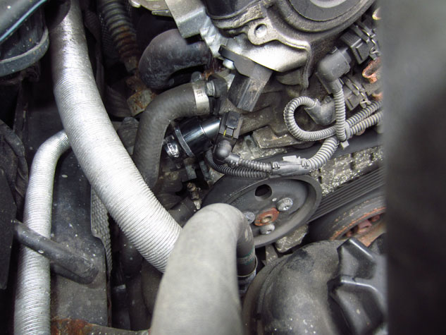 Timing Chain Tensioner - Fitting
